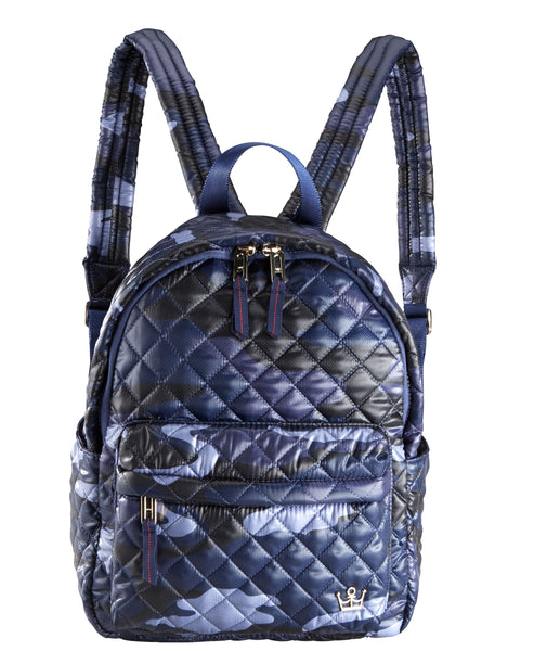24 + 7 Small Backpack - Blue Camo