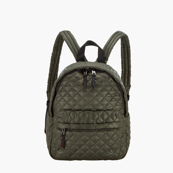 24 + 7 Small Tablet Backpack Green with Envy