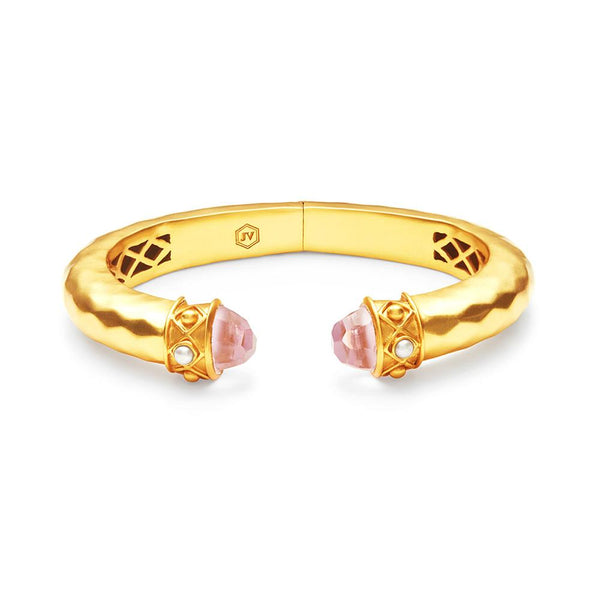 Savannah Demi Hinge Cuff - Rose