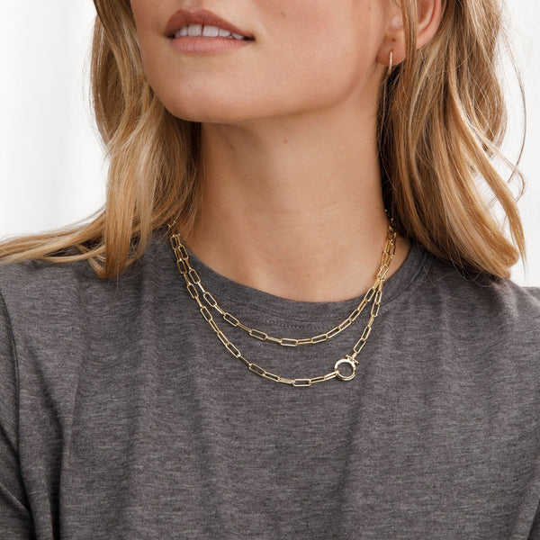 Parker Wrap Necklace Gold