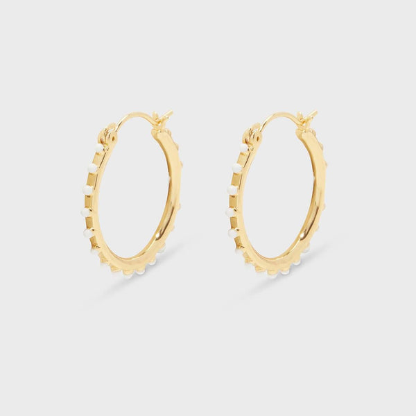 Capri Small Hoops