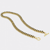 Enamel Curb Chain Necklace