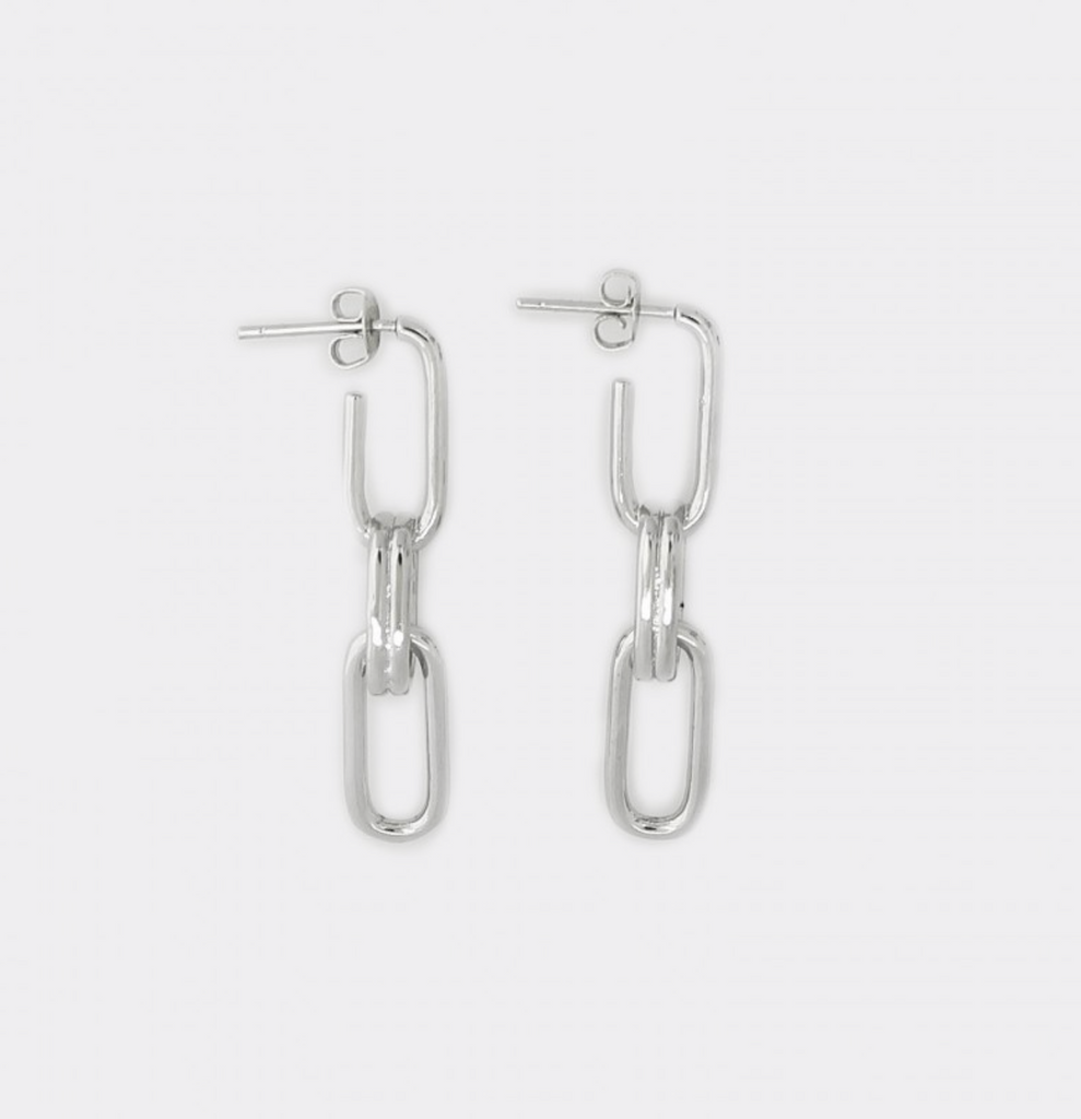 Paperclip Earrings