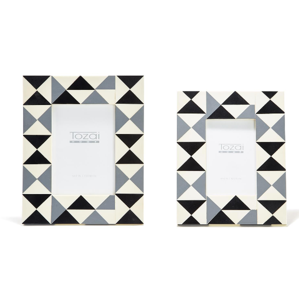 Triangles Mosaic Frame