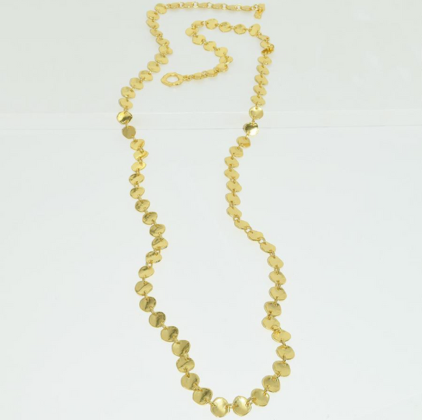 Sophia Long Necklace - Gold
