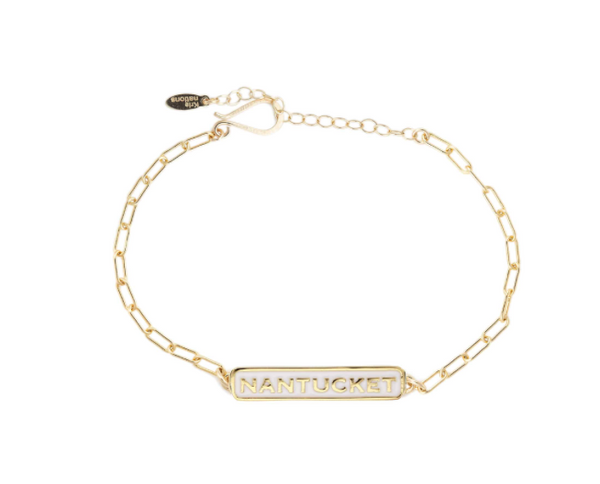 Nantucket Enamel Bar Bracelet