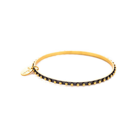 Soho Oxidized Bangle