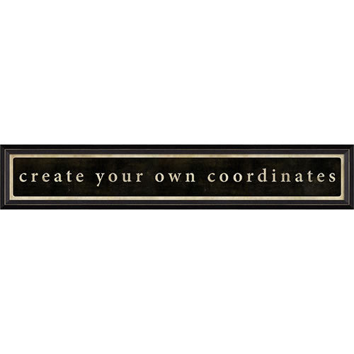Create your Own Coordinates