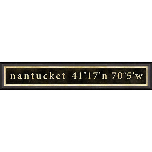 Nantucket Coordinates