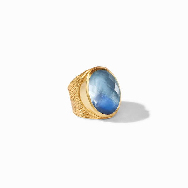 Verona Statement Ring - Azure Blue