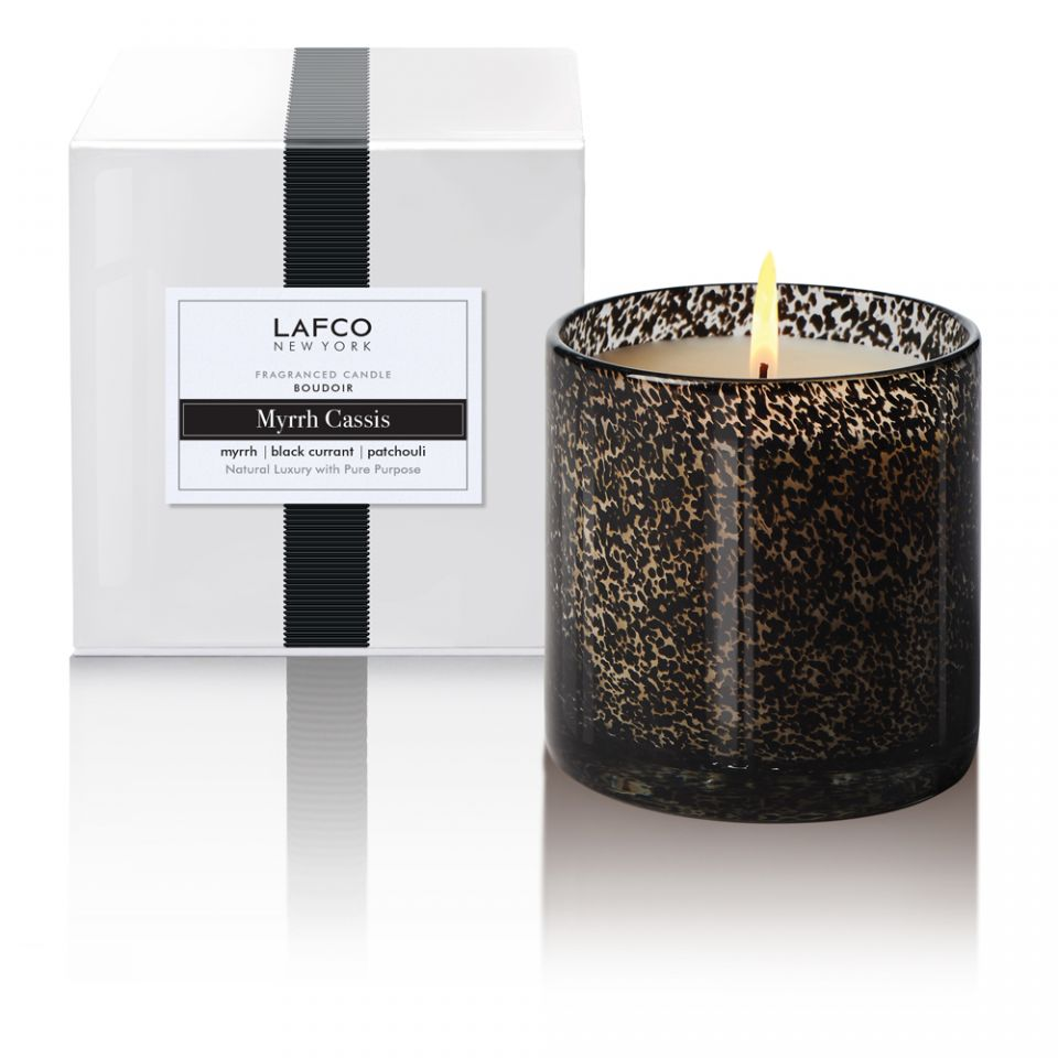 15.5oz Myrhh Cassis Candle