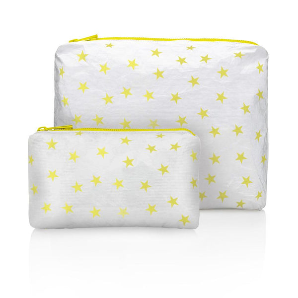 Shimmer White with Myriad Lemon Fizz Stars