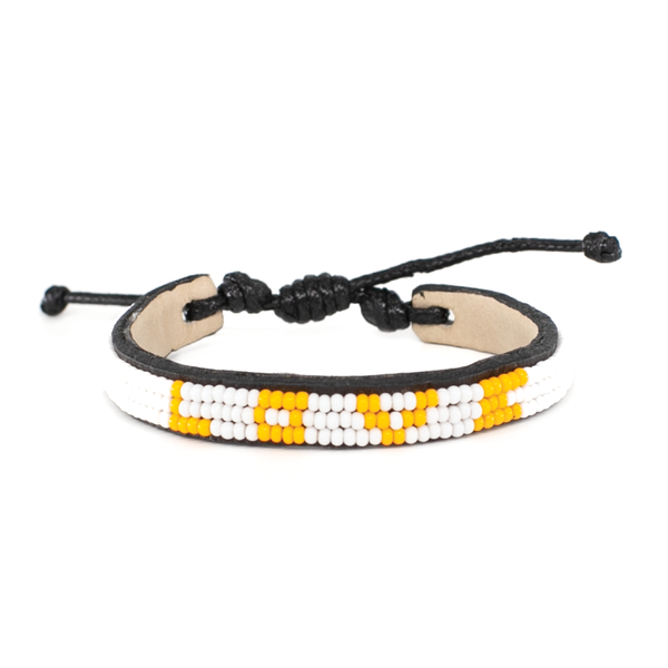 Sunflower Yellow Skinny LOVE Bracelet
