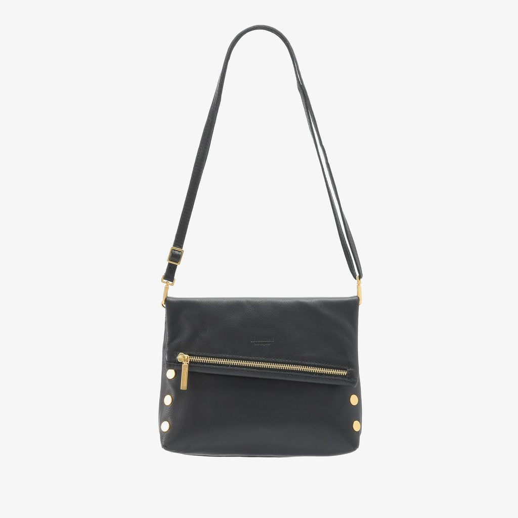 VIP Clutch - Black with Gold Hardware