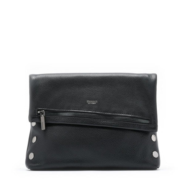 VIP Clutch - Black with Gunmetal