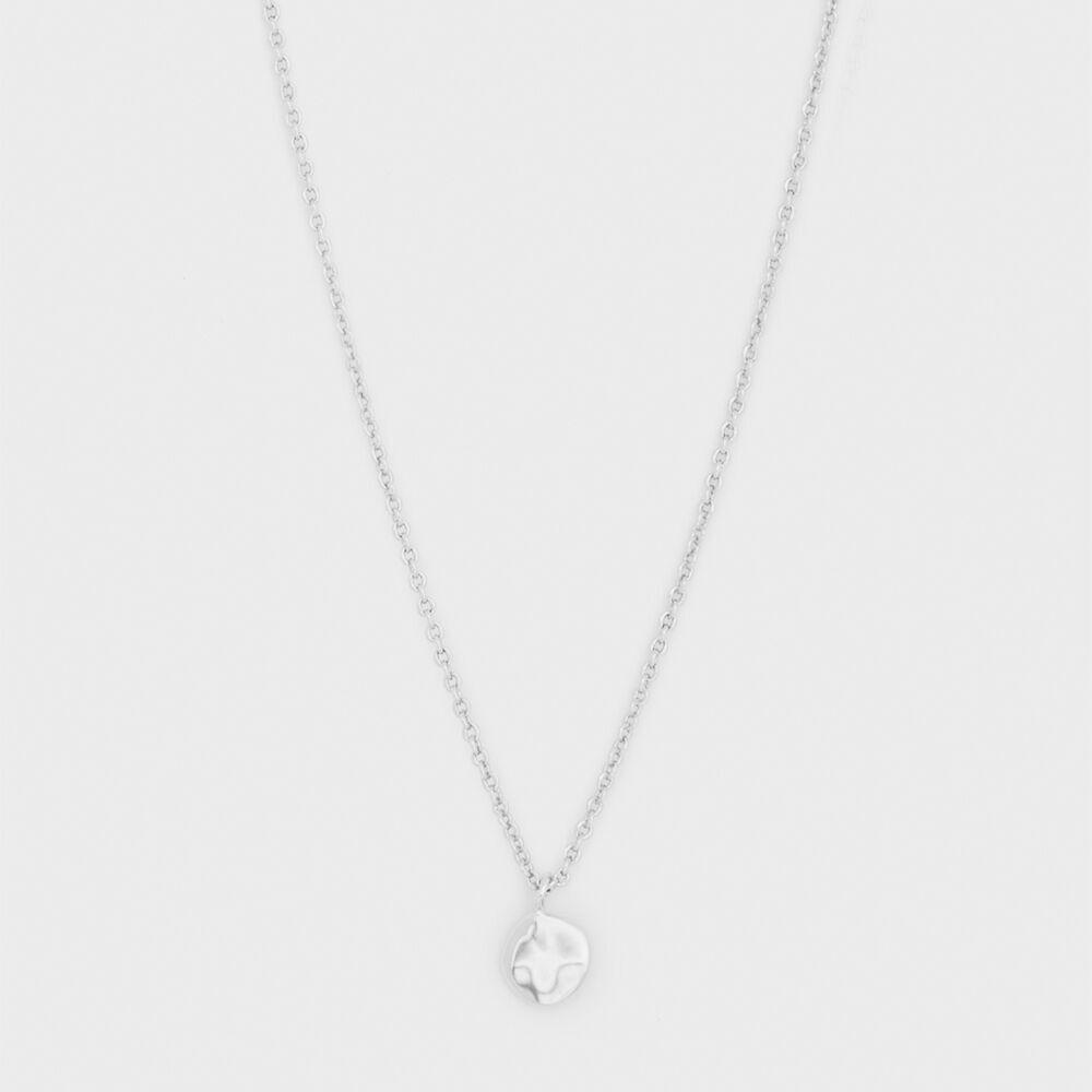 Chloe Charm Adjustable Necklace - Silver