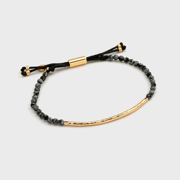 Gold Power Bracelet - Courage