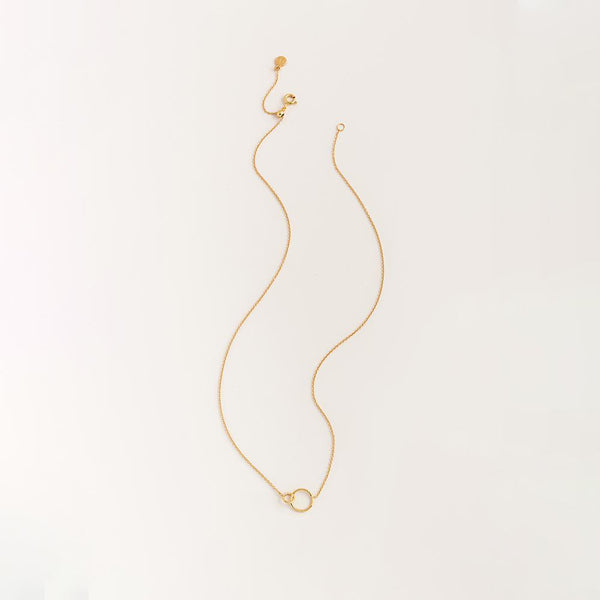 Wilshire Charm Adjustable Necklace Gold