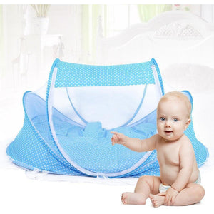 Baby bed with net
