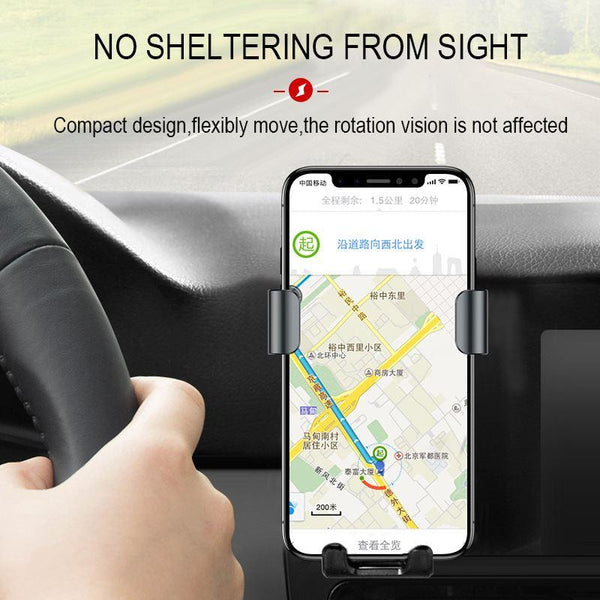 best wireless car charger with holder