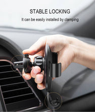 Stable locking wireless car charger