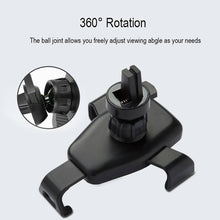360 degrees rotating wireless car charger with holder