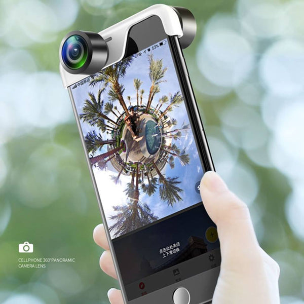 360 Lens for iphone X 6 7 8 Plus with Wide Angle