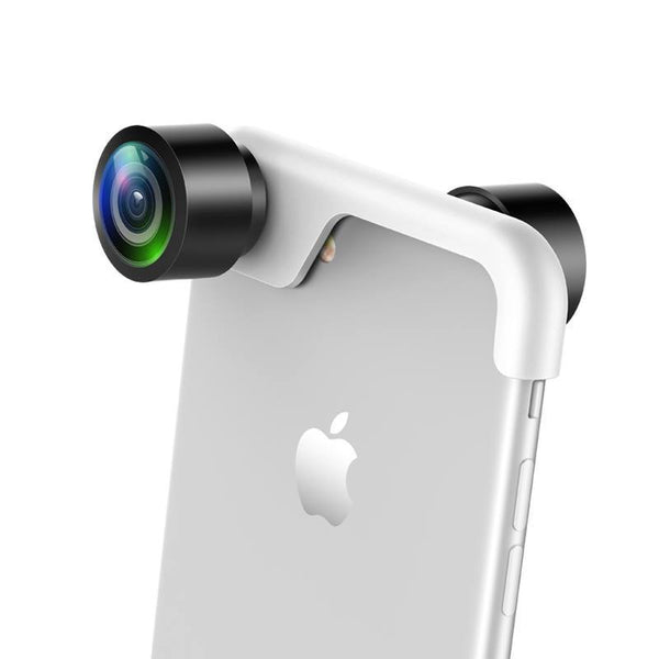 360  Wide Angle Lens for all iphones front and back view