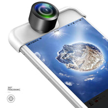 360  Wide Angle Lens for all iphones front view
