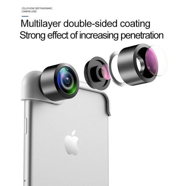Best Wide Angle mutli layered 360 degree Lens for all iphones