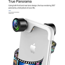 Best panoramic 360 Lens for iphone X 6 7 8 Plus with Wide Angle
