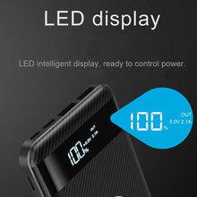 Wireless powerbank with led display