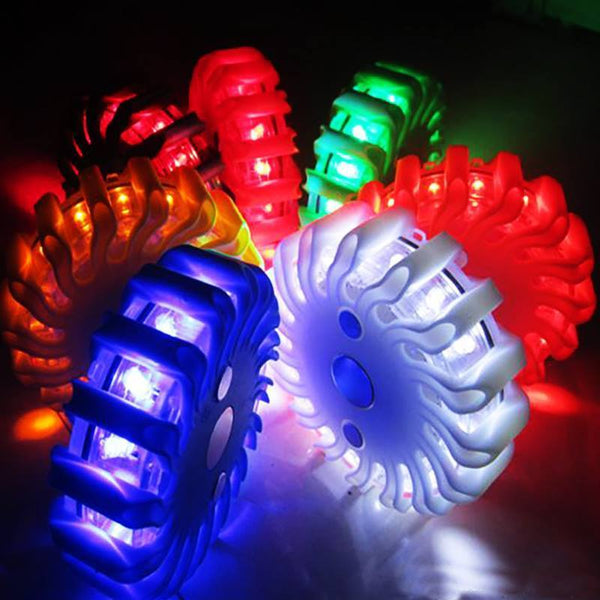 Magnetic LED Emergency Lights in 6 Colors