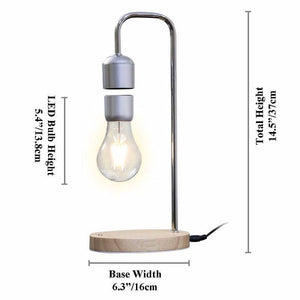 Magnetic Floating LED Light Bulb Lamp Size