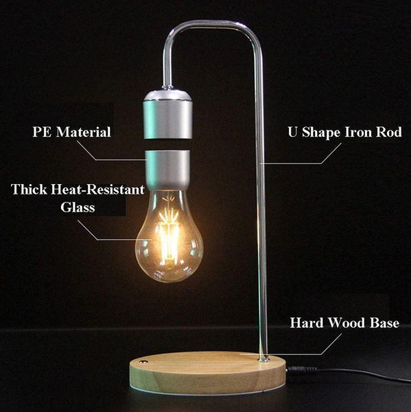Magnetic Floating LED Light Bulb Lamp Specs