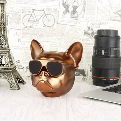 Bulldog Bluetooth Wireless Speaker Gold