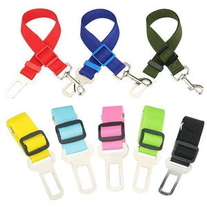 DOG CAR SEAT BELT SAFE ADJUSTABLE STRAP