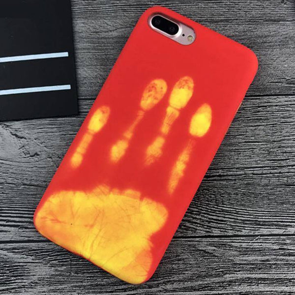 iPhone Heat Sensitive Cases Color Changing Thermal Sensor Cover