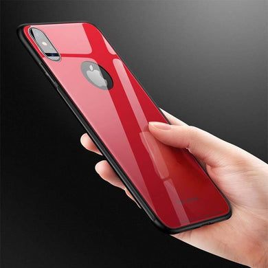 TPU Glass Finish Case for iPhone