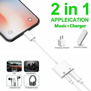 Headphone and Charger Jack Adapter