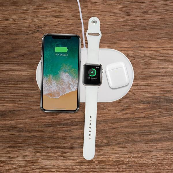 All In One Wireless Charging Mat for iPhone iWatch iPod-Series 2