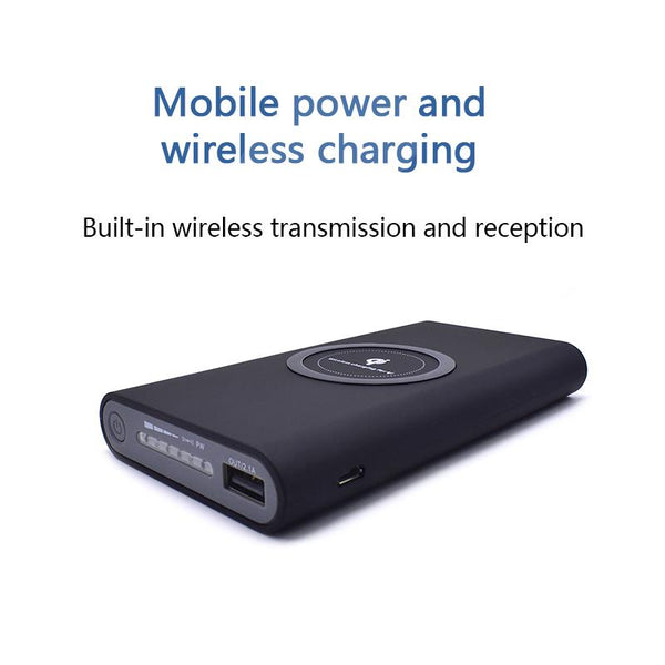 Wireless charging 8000mah Power Bank for all phones