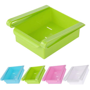 green refrigerator storage box