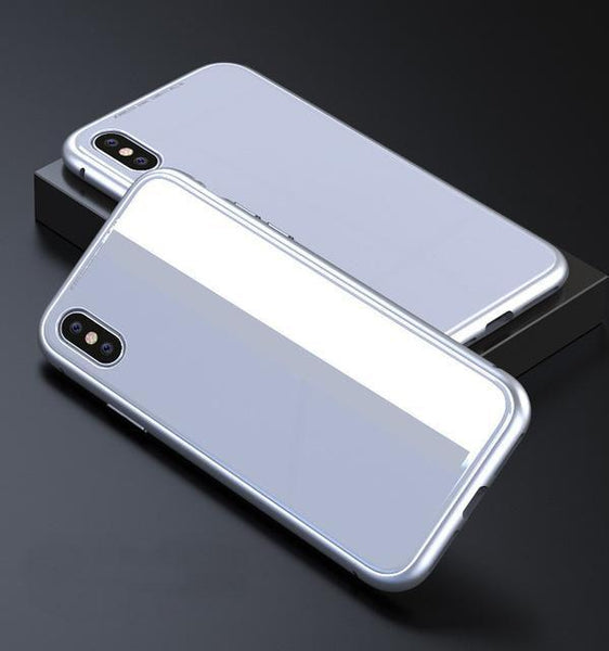 magnetic adsorption case pure white