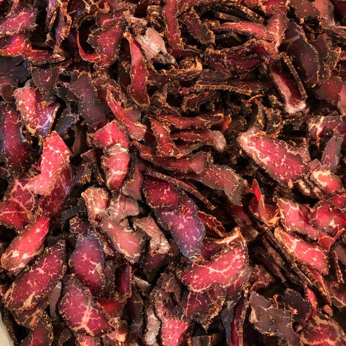 Spicy Beef Biltong Sliced