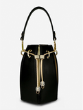 Casual Drawstring Bucket Bag For Ladies