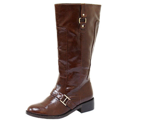 Brown Boots Liliana - LABELSHOES