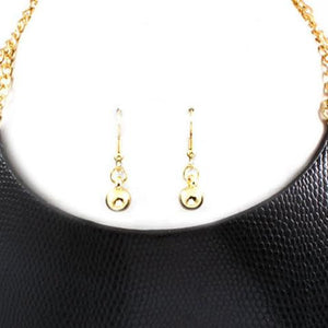 Necklace & Earring Set-4297 - LABELSHOES