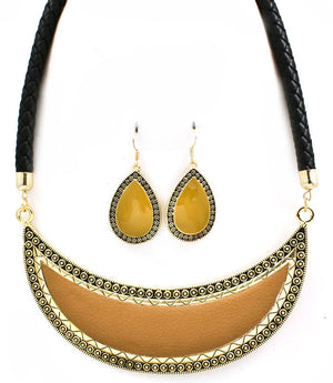 Necklace & Earring Set-0400 - LABELSHOES