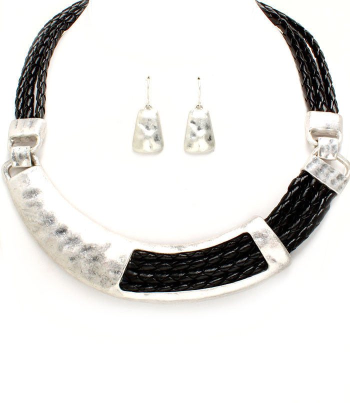 Necklace & Earring Set-02595 - LABELSHOES